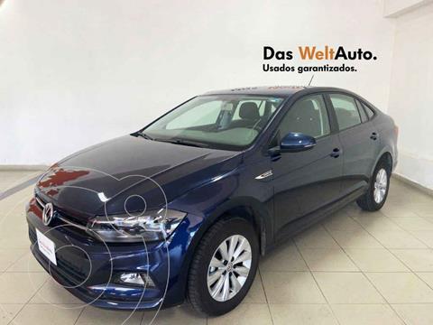 Volkswagen Virtus 1.6L usado (2020) color Azul precio $265,194
