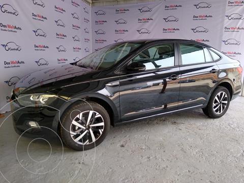 Volkswagen Virtus 1.6L L4  TIPTRONIC usado (2021) color Negro precio $339,500