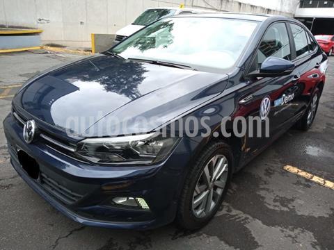 Volkswagen Virtus 1.6L usado (2020) color Azul precio $272,000