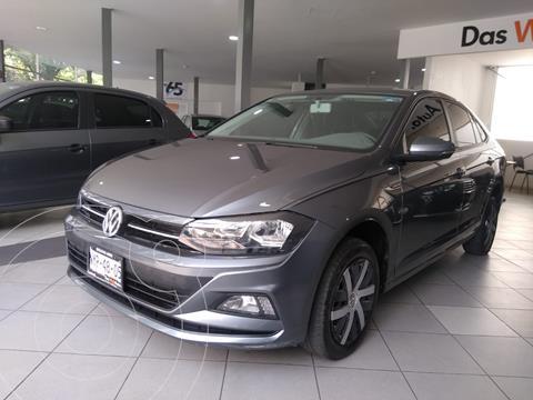 Volkswagen Virtus COMFORTLINE L4 1.6L 110HP FWD ABS BA AC TIP usado (2020) color Gris precio $285,500