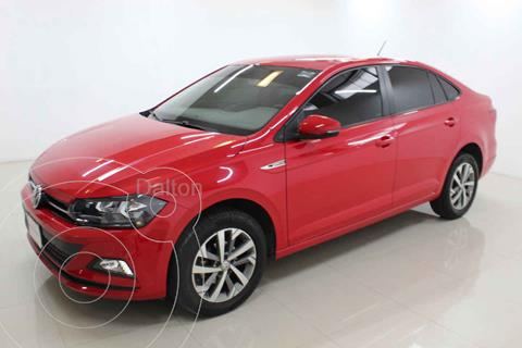 Volkswagen Virtus 1.6L Aut usado (2020) color Rojo precio $269,000