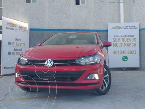 Volkswagen Virtus 1.6L Aut usado (2020) color Rojo precio $270,000