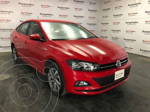 Volkswagen Virtus 1.6L Aut usado (2020) color Rojo precio $267,000