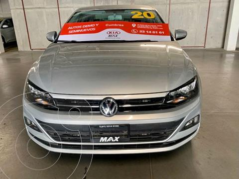 Volkswagen Virtus 1.6L Tiptronic usado (2020) color Plata Dorado precio $265,000