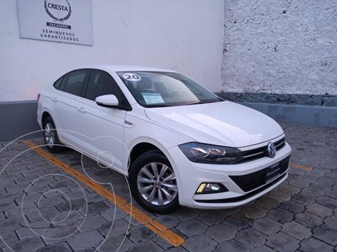 Volkswagen Virtus 1.6L usado (2020) color Blanco Candy precio $264,900
