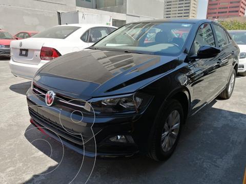 Volkswagen Virtus COMFORTLINE L4 1.6L 110HP FWD ABS BA AC TM usado (2020) color Negro precio $279,500