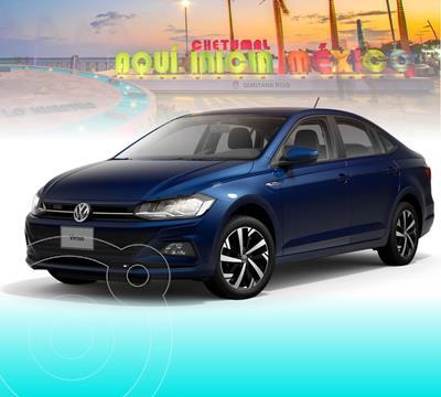 OfertaVolkswagen Virtus 1.6L Tiptronic nuevo color Azul Biscay precio $288,203