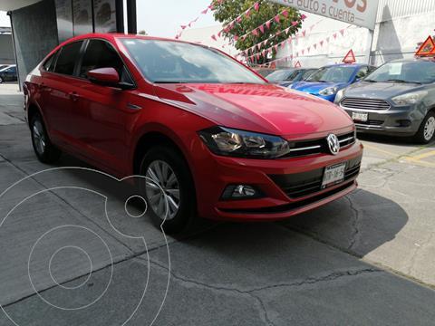 Volkswagen Virtus 1.6L Tiptronic usado (2020) color Rojo Tornado precio $269,800
