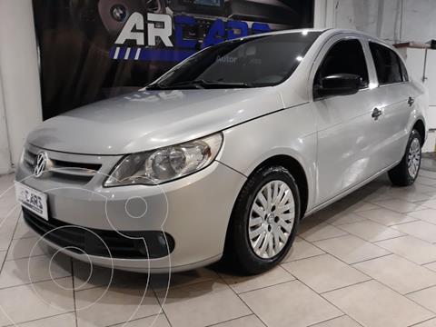 Volkswagen Voyage 1.6 Comfortline usado (2009) color Gris Vulcano financiado en cuotas(anticipo $450.000)