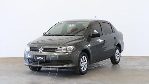 Volkswagen Voyage 1.6 Trendline usado (2015) color Gris Spectrus precio $990.000