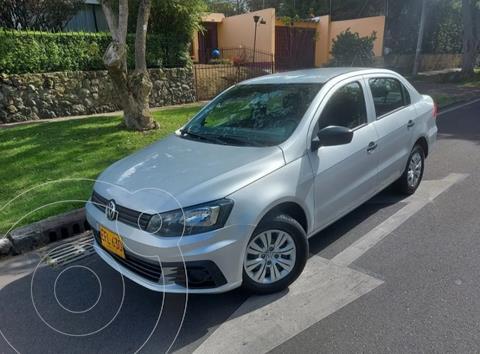 Volkswagen Voyage Trendline  usado (2018) color Plata precio $34.900.000