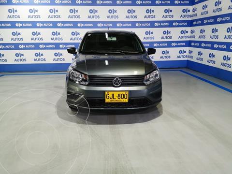 Volkswagen Voyage Trendline  usado (2020) color Gris Platino financiado en cuotas(anticipo $5.000.000)