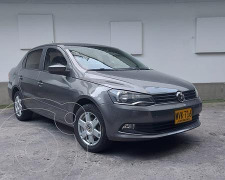 Volkswagen Voyage Comfort usado (2014) color Gris Spectrus precio $27.000.000
